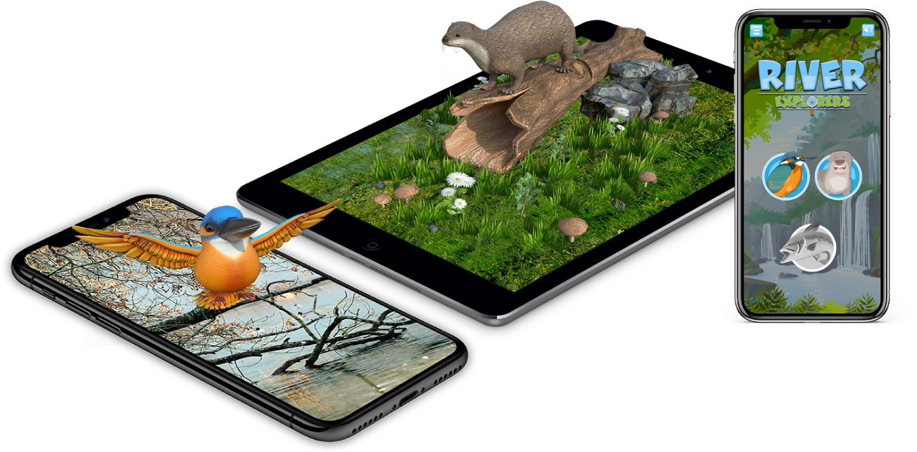 augmented reality app development devices ribble river trust